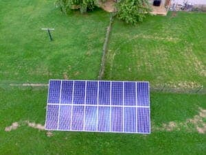 Ground mount solar residential