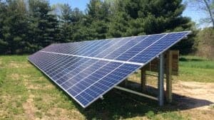 Solar panels groundmount