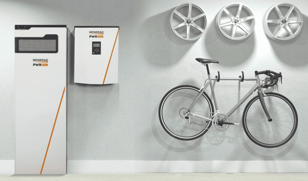 solar battery storage from Generac