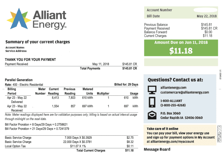 end high electricity bill