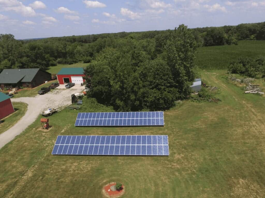 Ground-mounts and flexible array designs are solar energy facts!
